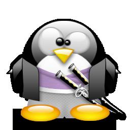 Samorai Tux Penguin