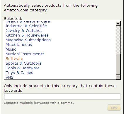 Creating an Amazon aStore Step 4
