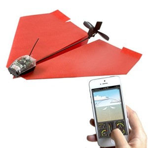 Smartphone controlled paper auirplane
